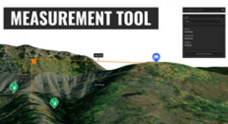 How to use the measurement tool on goHUNT Maps