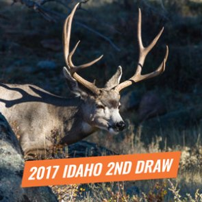 2017 Idaho second controlled hunt drawing list