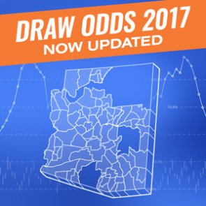 2017 Draw Odds Now Updated (Includes Arizona)