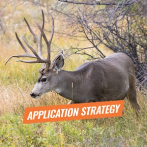 APPLICATION STRATEGY 2018: Utah Mule Deer