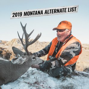 2019 Montana nonresident deer combination license alternate's list now available