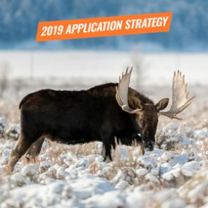 APPLICATION STRATEGY 2019: Wyoming Sheep, Moose, Goat, Bison