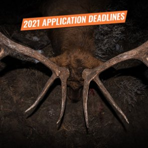 2021 Western Big Game Hunting Application Deadlines