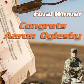Congrats Aaron Oglesby - 4 weeks 4 tags final winner