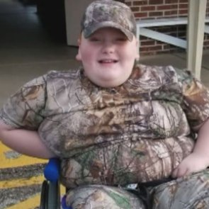 Boy with disability wants crooks to return special hunting gear