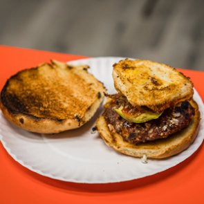 Wild Game Friday - Ep. 1 - Antelope, blue cheese, egg, avocado burgers