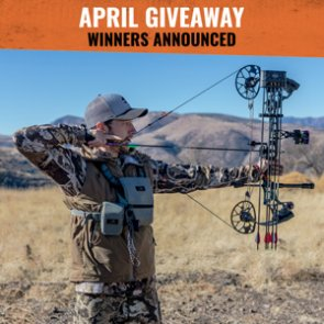 5 people just won a fully loaded Mathews bow setup