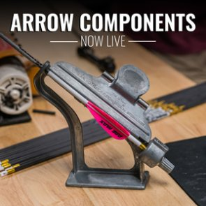 Arrows and arrow building components added to the goHUNT Gear Shop!