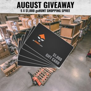 August giveaway - $1,000 gear shopping spree for five INSIDERs
