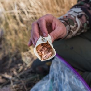 Backcountry food breakdown