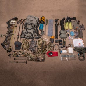 Brady Miller's 2018 early season backcountry hunting gear list