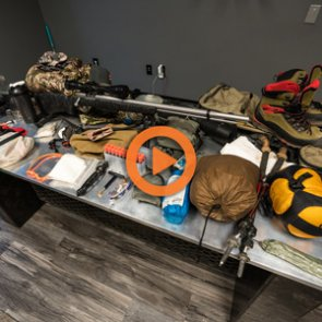 Brady Miller's 2018 Utah muzzleloader mule deer gear list