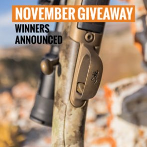 5 people just won a Browning X-Bolt rifle