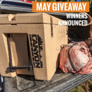 10 people just won a Canyon Cooler - Outfitter 75