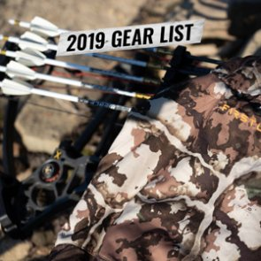 Chris Neville's 2019 Wyoming archery elk gear list