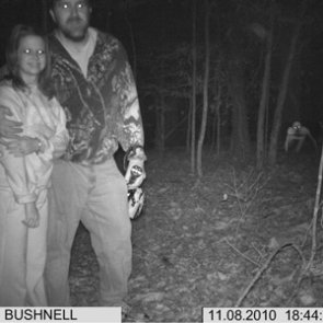 The creepiest photos caught on trail cameras