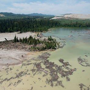 Major dam breaks in British Columbia