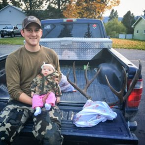 Managing a hunting season with a newborn