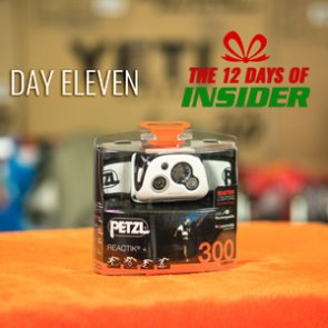 Day Eleven — The 12 Days of INSIDER giveaway — Eleven Petzl Reactik Headlamps