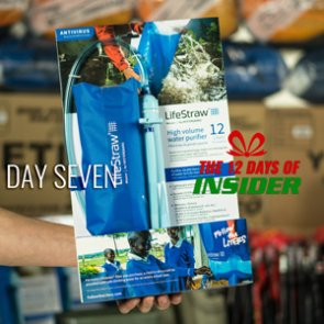 Day Seven — The 12 Days of INSIDER giveaway — Seven LifeStraw Mission 12L