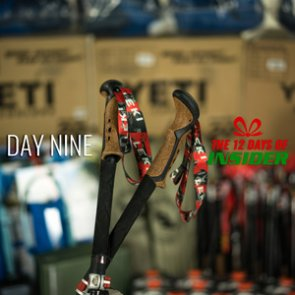 Day Nine — The 12 Days of INSIDER giveaway — Nine Leki Micro Vario Cor-Tec Trekking Poles