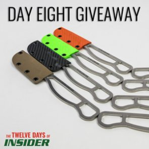 The 12 Days of INSIDER giveaway: Eight Tyto 1.1 Replaceable Blade Knives
