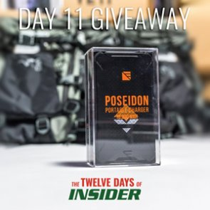 The 12 Days of INSIDER giveaway: 11 Dark Energy Poseidon Chargers