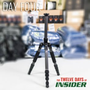 The 12 Days of INSIDER giveaway: Four SIRUI T-2205X Carbon Fiber Tripods