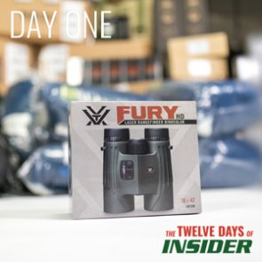 The 12 Days of INSIDER giveaway: One Vortex Fury Rangefinding Binocular
