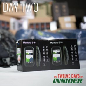 The 12 Days of INSIDER giveaway: Two Garmin Montana 610 GPS units