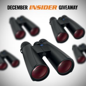 December INSIDER giveaway: 5 Zeiss binoculars