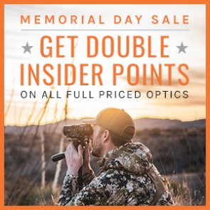 For a limited time get DOUBLE INSIDER Points on full priced optics!