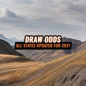 INSIDER Update: All States Now Have Updated Draw Odds For 2021