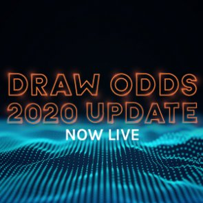 Draw Odds Now Updated For 2020!