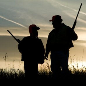 Extreme anti-hunting advertisement
