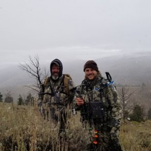 A father and son western hunt experience