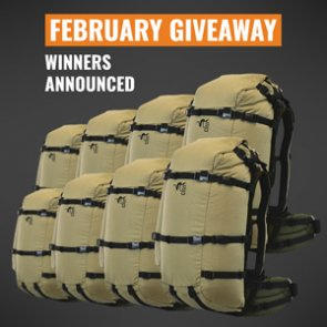8 people just won a Stone Glacier EVO 40/56 backpack