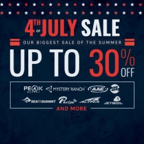 4th of July Event is now LIVE — Our Biggest Sale Of The Summer!
