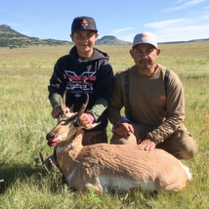 Starting the year off right with the perfect father/son hunt