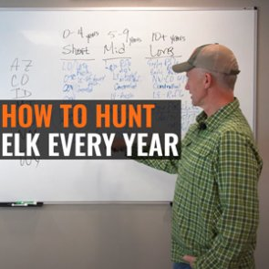 Randy Newberg's strategy for how to hunt elk every year