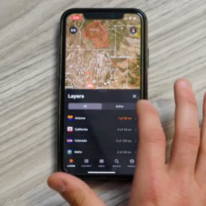 How to navigate on the goHUNT Maps app