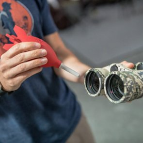 Best methods for cleaning the glass on your hunting optics