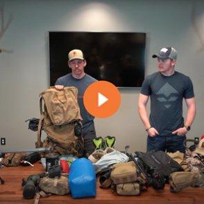 2021 Idaho backcountry spring bear hunt gear list
