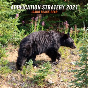 APPLICATION STRATEGY 2021: Idaho spring controlled black bear options