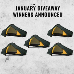 Hilleberg Enan Tent Winners Announced!