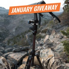 January INSIDER Giveaway: 15 SIRUI T-024X Carbon Fiber Tripods