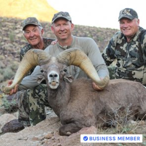 2nd largest Arizona raffle tag bighorn ever taken