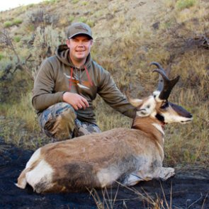 Backup antelope landowner tag pays off big time