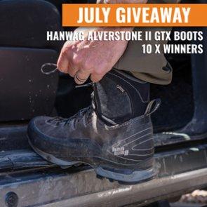July INSIDER Giveaway: 10 Hanwag Alverstone II GTX Boots