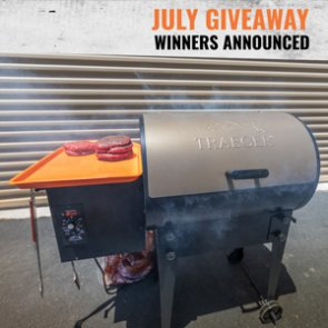 8 people just won a Traeger Tailgater Pellet Grill